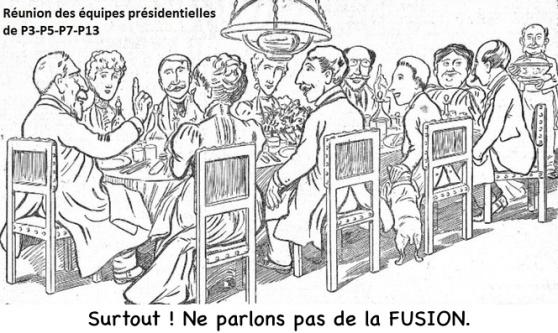 Réunion des équipes présidentielles P3-P5-P7-P13 n°1